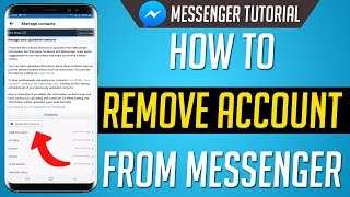 How To Delete Contacts on Messenger
