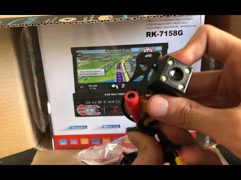 L'autoradio da 1 din con schermo touch! RK-7158G