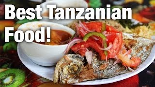 preview picture of video 'The Best Tanzanian Food I Have Ever Eaten at Grace Shop'