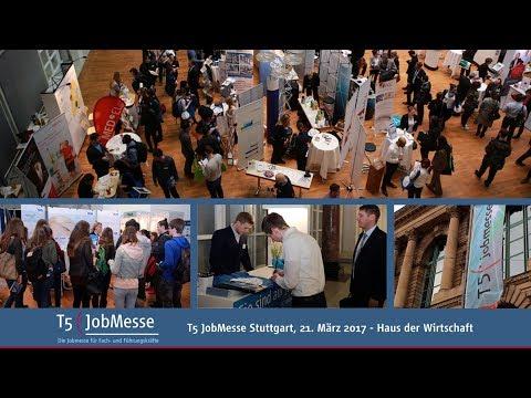Video T5 JobMesse Stuttgart 2017