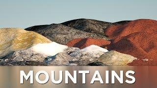 Mountains Size Comparison (Solar System)