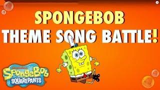 Theme Song Battle: Nick Stars vs. Nick Noises | SpongeBob