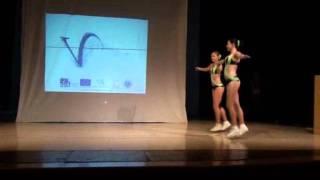 Taneční vystoupení - aerobik