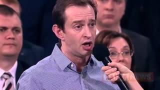 На вопрос #Хабенского  ответил #Путин  Прямая линия с Путиным 2016