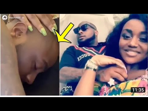 Pregnant DAVIDO'S WIFE CHIOMA SHOW OUT HER MULTIMILLIONAIRE ENGAGEMENT RING/ HAPPY WEDDING