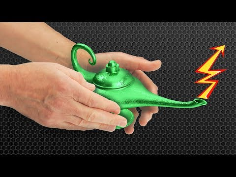 Aladdin's Lamp - High Voltage Source