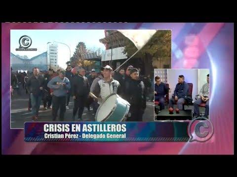 """VIDEO """"La obra pública metal mecánica la puede hacer Astilleros a mitad de precio"""""""