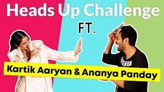 Kartik & Ananya's FUNNIEST 'Heads Up' Challenge | Pati Patni Aur Woh | Baat With Britto | Ep. 2