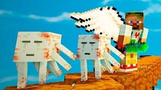 Опасные битвы в Minecraft 119 - Босс Ур ГАСТ