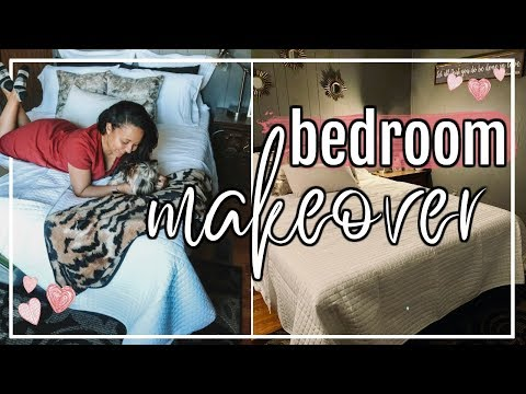CLEAN & DECORATE WITH ME 2018 | HUGE MAKEOVER CHILDHOOD BEDROOM! | Page Danielle