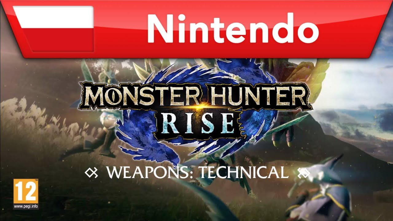 Monster Hunter Rise – broń techniczna | Nintendo Switch
