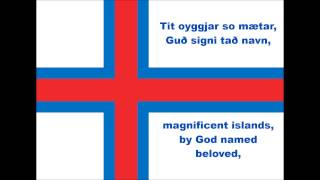 National anthem of Faroe Islands (Lyrics)