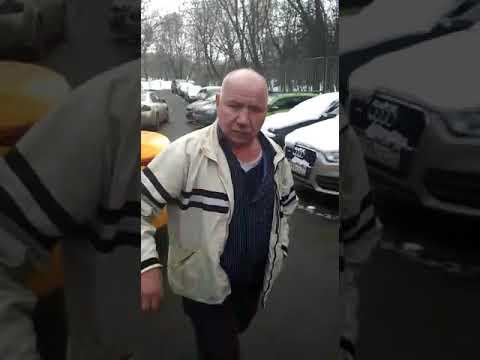 Пьяный водитель такси в Москве