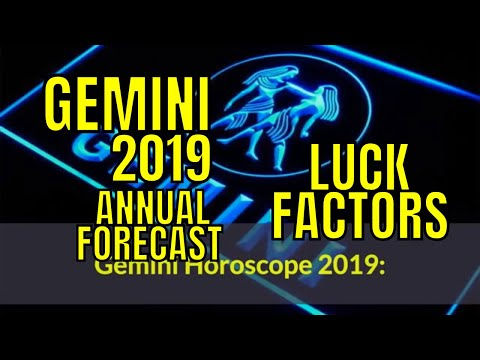 Gemini mithun rashi 2019 horoscope gemini lucky factors - What is the lucky color of the year 2019 ...