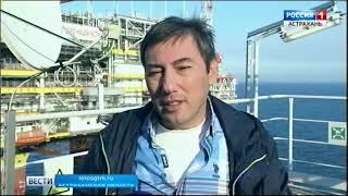Журналисты из стран Прикаспия посетили месторождение имени Филановского