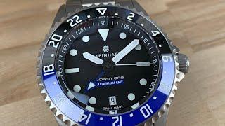 Steinhart Ocean one titanium gmt 500