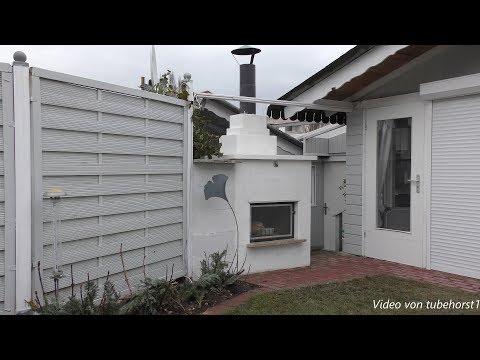 Aufbau Gartenkamin im März 2018 in 4K, von tubehorst1