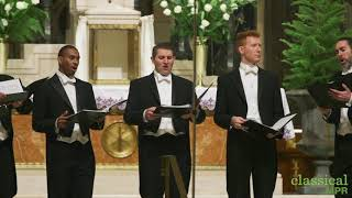 Chanticleer performs Rachmaninoff's 'Bogoroditse Devo' at the Cathedral of St. Paul