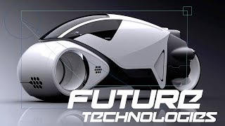 Future Technology Concept - Personal Transportation (Bikes, Skateboard and More)