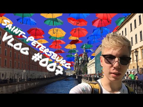 VLOG #007 I WHITE NIGHTS IN SAINT-PETERSBURG! I SAINT-PETERSBURG I РУС-СУБ I crush