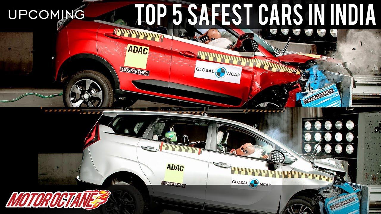 Motoroctane Youtube Video - Top 5 Safest Cars in India | Hindi | MotorOctane