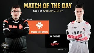 Team Reciprocity vs 100 Thieves | CWL Pro League 2019 | Cross-Division | Week 6 | Day 1