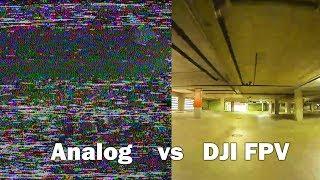 Analog vs DJI Digital FPV - Flying UNDER BUILDINGS - Ricker Life FPV