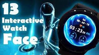 13 Best Galaxy Watch Active Functional/Interactive Watch Face