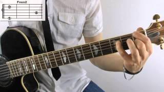 Whistle - Flo Rida Noten und TABs Gitarre lernen online
