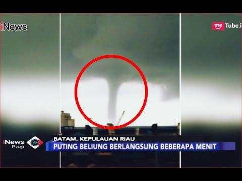 Video Angin Puting Beliung di Batam Jadi Viral di Medsos - iNews Pagi 13/12