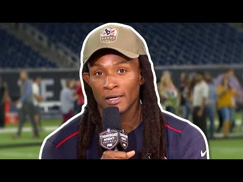 "DeAndre Hopkins On TNF Victory, ""A must-win, this was a playoff game"""