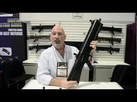 UTAS UTS-15 Tactical Shotgun Demo, Shot Show 2013 - Rockwell Arms