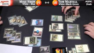 Grand Prix Washington D.C. Finals: Hron vs. Martell