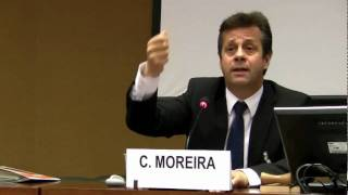 Carlos Moreira at the United Nations Human Rights Meeting - eVoting en Afrique