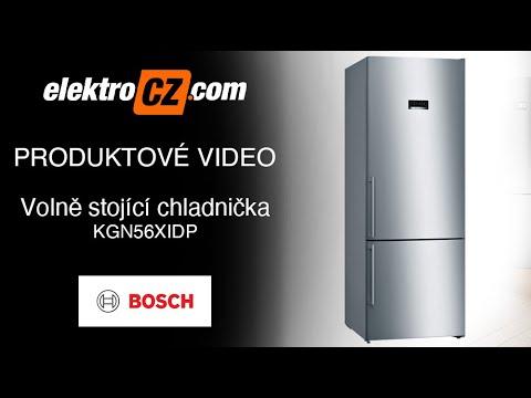 Volně stojící chladnička Bosch KGN56XIDP s technologií NoFrost