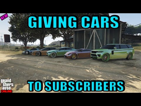 GTA ONLINE: GIVING AWAY FREE MODDED CARS & PLANES 2 Player GCTF