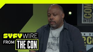Bernardin On Adapting Stephen King's Work & Andre Holland As The Lead | SDCC 2018 | SYFY WIRE