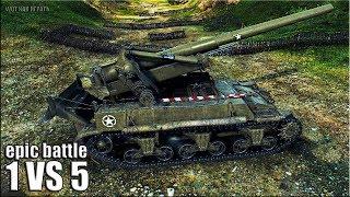 Колобанов на арте 🌟 ЭПИК 9 ФРАГОВ 🌟 World of Tanks лучший бой на САУ M12 wot