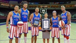 Harlem Globetrotters set 6 INSANE Guinness WORLD RECORDS in 1 day!