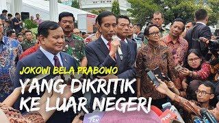 Bela Prabowo yang Dikritik Sering ke Luar Negeri, Jokowi: yang Tanya Berarti Enggak Ngerti Diplomasi