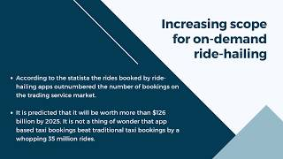 Growing trend for ride-hailing apps: How to launch a taxi app?