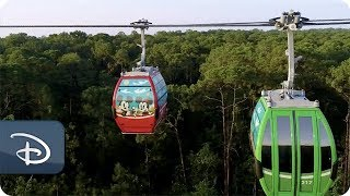 Disney Skyliner Takes Flight on Sept 29, 2019 at Walt Disney World Resort
