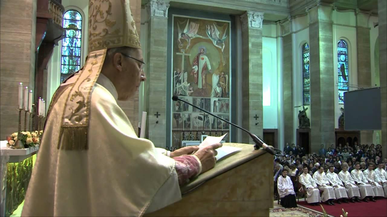 Videóösszefoglaló a pappászentelésről