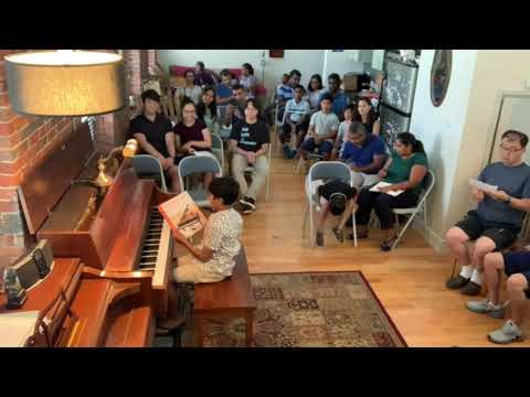 """A Mill City Music Studio student performs """"Six Ate Beets"""" by Bill Boyd and """"Song of the Dark Woods,"""" by Elie Siegmeister."""