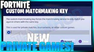how to do custom matchmaking fortnite mobile