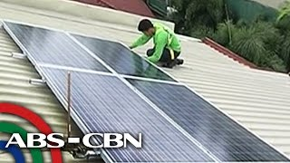 Bandila: How solar panels help save money?
