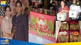 Worlds Most Expensive Wedding Invitation Cards | Mukesh Ambani Son Akash Ambani & Shloka Mehta