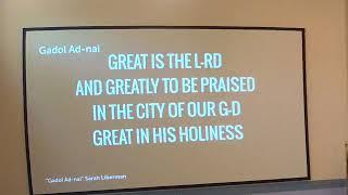 Shabbat Service - May 30, 2020
