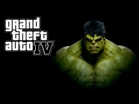 GTA IV LCPDFR Hulk Mod w/Powers Police Patrol - Day 2 - Hulk Breaks