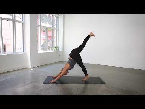 45 Minute Everyday Vinyasa Flow Yoga Class   lululemon